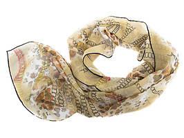 Шарф Venera Лучший корпоративный подарок к праздникам шарф крепдишин VENERA (ВЕНЕРА) C270025-green