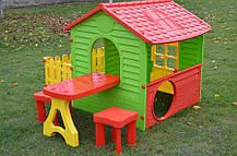 Мега большой садовый домик Garden House столик + 2 табуретки, фото 2