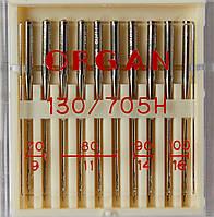 Иглы универсальные машинные №70-100 Organ Япония, 10 шт.