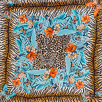 Платок шейный, маленький Venera Лучший корпоративный подарок к праздникам платок шёлковый шейный женский VENERA (ВЕНЕРА) C270089-13