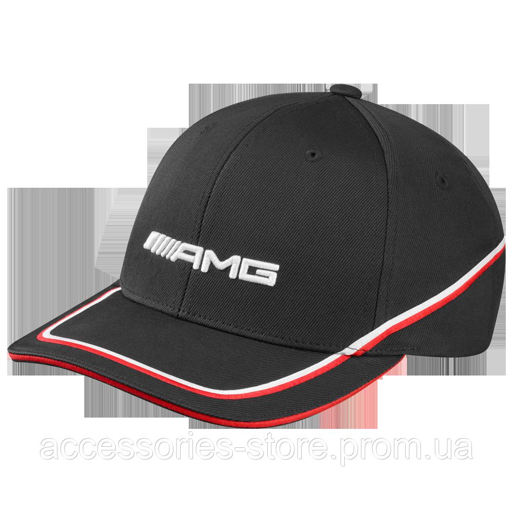 Мужская бейсболка Mercedes-Benz Men's cap, AMG, black / red / white