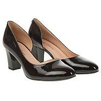 Туфли женские Lady Marcia (черные, устойчивый каблук, удобная колодка, модные, элегантные)
