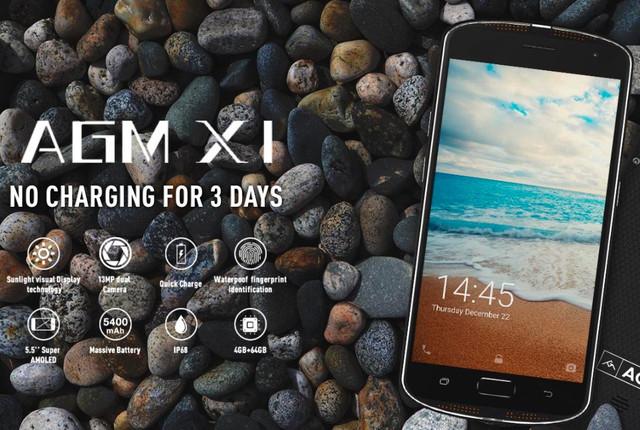 Обзор защищенного смартфона AGM X1