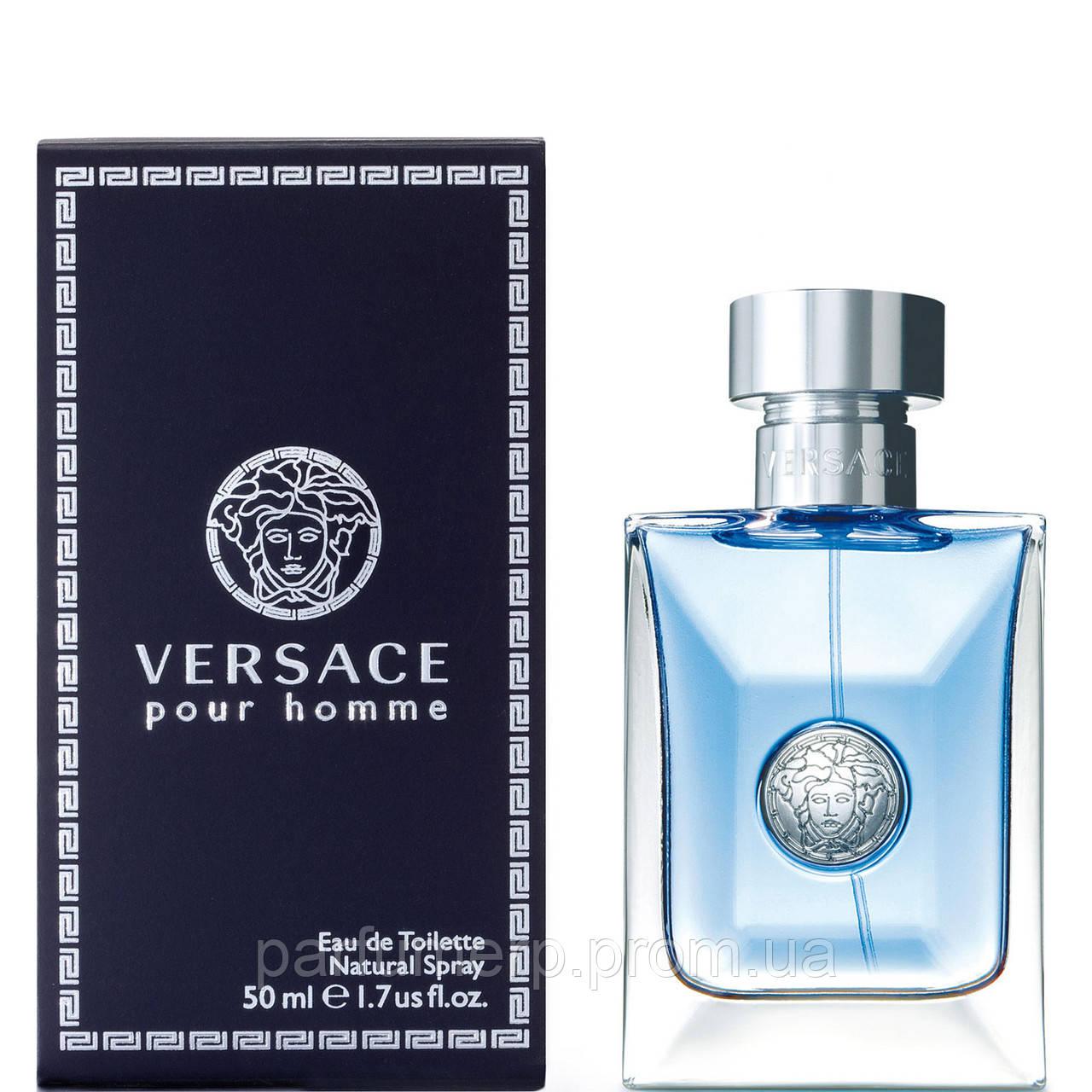 Versace Pour Homme 50мл (Версаче Пур Хом) - Оригинал!
