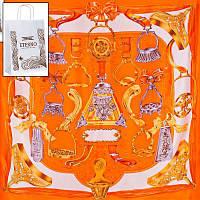 Платок женский шелковый ETERNO (ЭТЕРНО) ES0611-4-orange