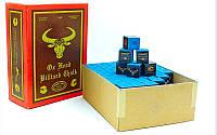 Мел для бильярда (уп. 144шт) OX HEAD KS-OH144 (синий, цена за 1шт) дубл.