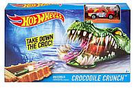 Игровой набор Hot Wheels Укус крокодила, Хот вилс DWK96