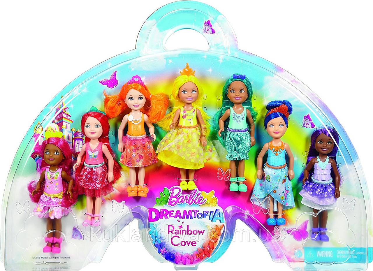 Набор Barbie Dreamtopia Челси и ее подружки