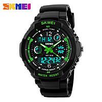 Часы наручные Skmei S-Shock Зеленые