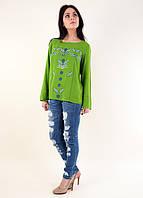 Штапельная блуза Триумф с вышивкой