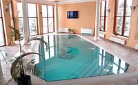 Строительство бассейнов под ключ . Переливной тип бассейна