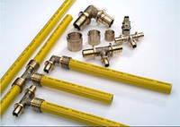 Гибкая труба TECE flex Gas. Універсальна багатошарова труба PE-Xc/AL/PE