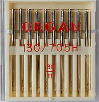 Иглы универсальные машинные №80 Organ Япония, 10 шт.