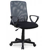 Компьютерное кресло Halmar Alex чёрно-серый