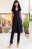 Нарядный женский черный костюм Меркс Jadone Fashion 42-50 размеры