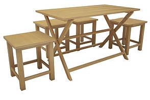Раскладной прямоугольный стол Парма, фото 2