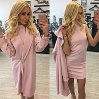 Стильное и молодежное платье-двойка (платье+кардиган) i-6131555