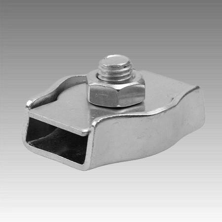 Зажим одинарний Simplex 4 мм (пач. 50шт)