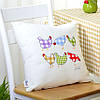 Подушка декоративная Курочки
