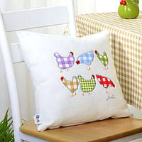 Подушка декоративная Курочки, фото 1