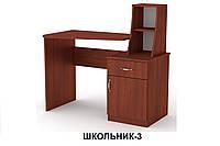 """Стол письменный ШКОЛЬНИК-3 (компьютерный или офисный) """"Компанит"""""""
