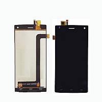 Дисплей (Lcd) Fly FS452 +touchscreen black
