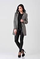 Женское  пальто Vilnus- темно-серое