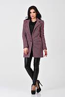 Женское  пальто Vilnus- бардо