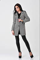 Женское  пальто Vilnus- серое