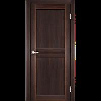 Дверь MILANO  ML-01. Исполнение: глухое (орех,дуб беленый,дуб грей,дуб марсала). KORFAD (КОРФАД)