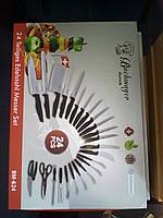 Ножи кухонные 24 штук   Bachmayer teiliges edelstahl messer set bm - 624