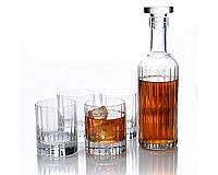 Графин для спиртных напитков со стаканами Luigi Bormioli Bach Spirits Bottle with DOF Glasses, 5 предметов