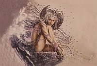 Набор для вышивания бисером  Девушка ангел