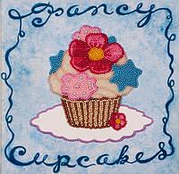 Набор для вышивания бисером  Голубое пирожное
