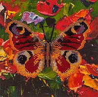 Набор для вышивания бисером  Бабочка-1