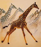 Набор для вышивания бисером  Жирафы