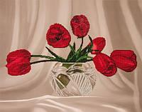 Набор для вышивания бисером  Тюльпаны