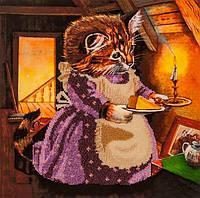 Набор для вышивания бисером  От кошки для мышки