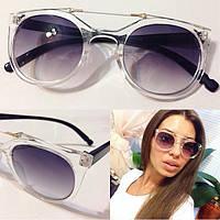 Женские солнцезащитные очки с прозрачной оправой u-4316218