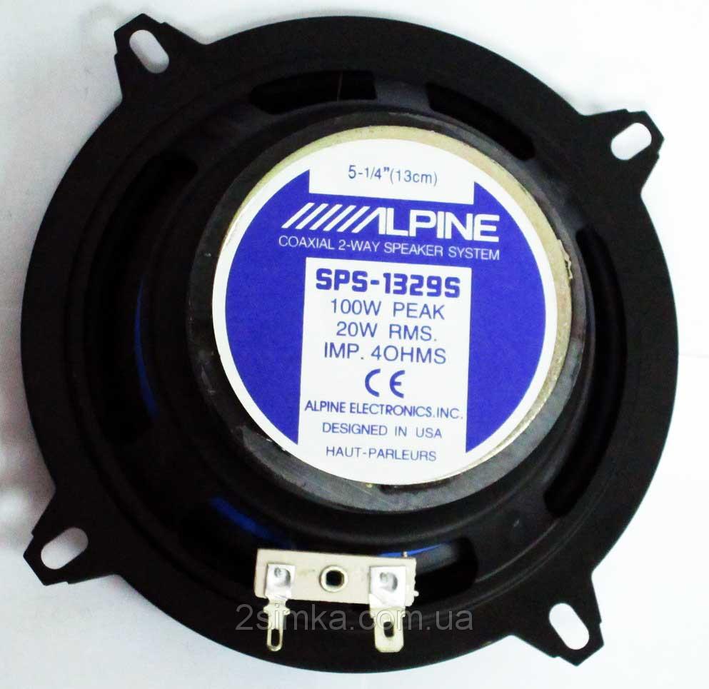 Alpine SPS-1329S (80Вт) двухполосные