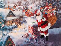 Набор для вышивания бисером  Дед Мороз