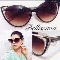 Необычные женские солнцезащитные очки в разных расцветках b-4316234
