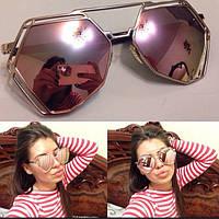 Женские солнцезащитные очки необычной формы s-4316248