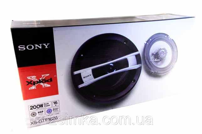 SONY XS-GTF 1626 (200W) двухполосные