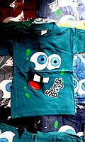 Детские футболки для мальчика (губка Боб) опт Турция
