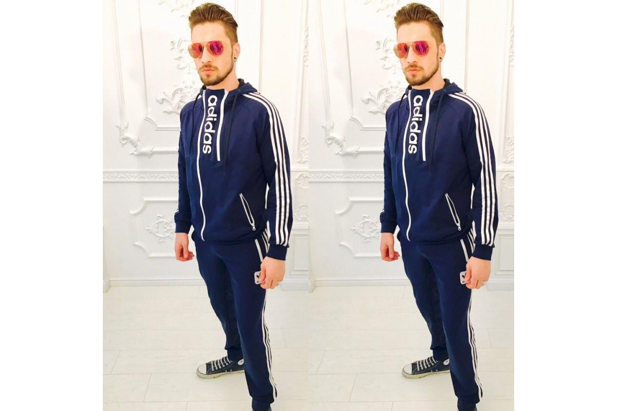 e8842e271a48 Мужской спортивный костюм шеврон Адидас -полоски  продажа, цена в ...
