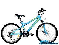Горный подростковый велосипед Azimut Hiland 24 D New