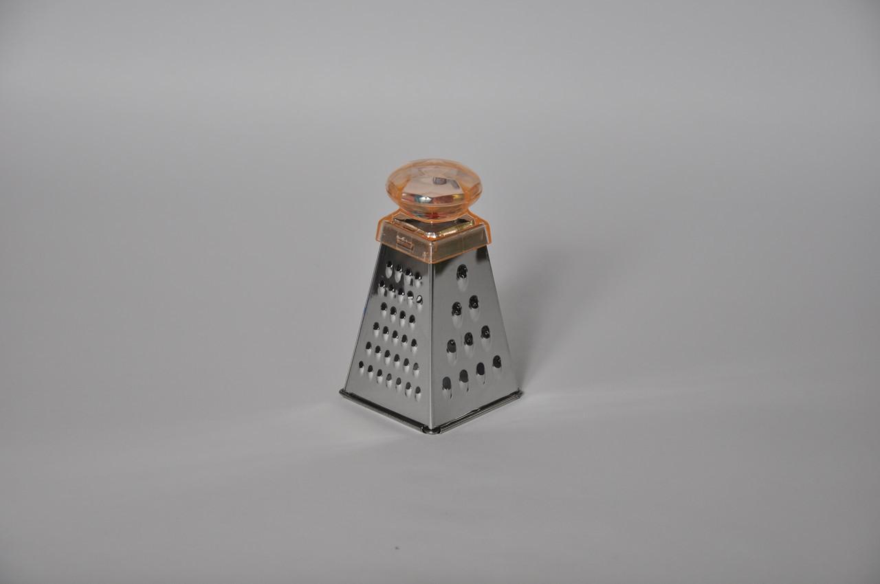 Терка для часнику і горіха з брязкальцем