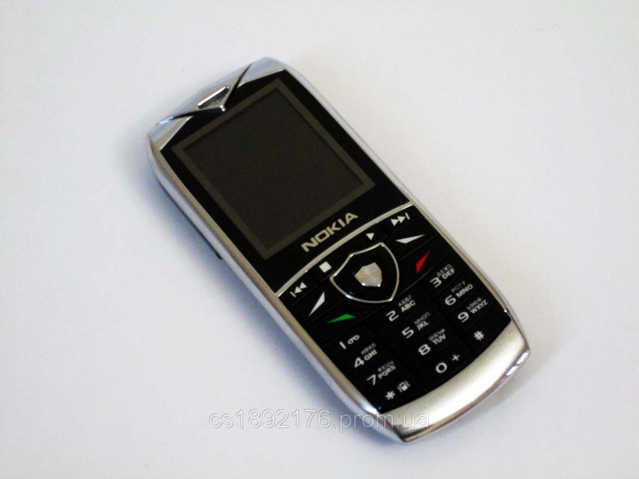 "Телефон Nokia 7399 - 2Sim+1,8""+BT+Camera+FM - металлический корпус"