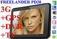 "7"" Планшет навигатор Freelander PD20 1Gb ОЗУ + 3G + WiFi + Видеорегистратор, фото 1"